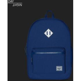 Herschel Heritage XL Backpack Kids deep ultramarine/silver reflective